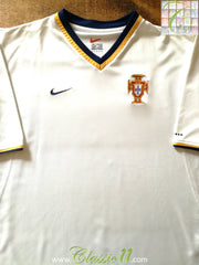 2000/01 Portugal Away Football Shirt (L)