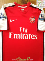 2008/09 Arsenal Home Premier League Football Shirt (M)
