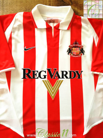 2002/03 Sunderland Home Football Shirt (L)