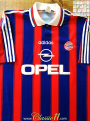 1995/96 Bayern Munich Home Football Shirt (S)
