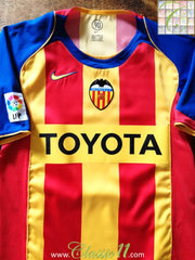2004/05 Valencia 3rd La Liga Football Shirt (S)
