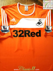 2011/12 Swansea City Away Premier League Football Shirt (XL)