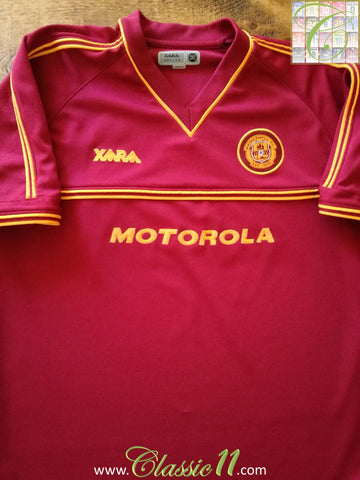 2001/02 Motherwell Away Football Shirt (S)