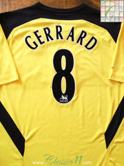 2004/05 Liverpool Away Premier League Football Shirt Gerrard #7 (L)