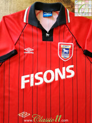 1993/94 Ipswich Town Away Football Shirt (M)