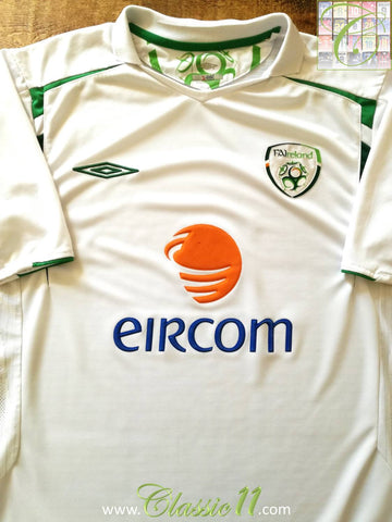 2005/06 Republic of Ireland Away Football Shirt (M)