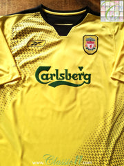2004/05 Liverpool Away Football Shirt (L)