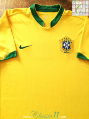 2006/07 Brazil Home Football Shirt (XL)