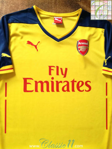 2014/15 Arsenal Away Football Shirt (XL)