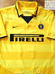 2003/04 Internazionale Away Football Shirt (B)
