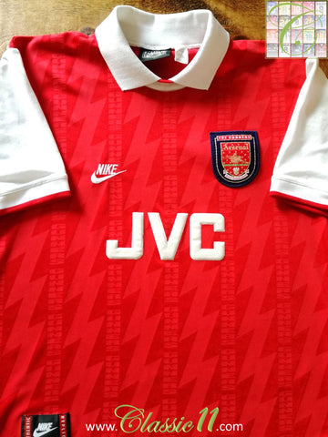 1994/95 Arsenal Home Football Shirt (XXL)