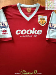 2009/10 Burnley Home Premier League Football Shirt (XXL)