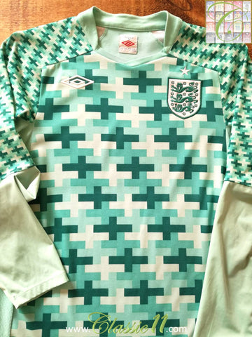 2011/12 England Goalkeeper Football Shirt (M)