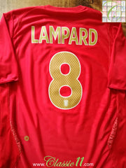 2006/07 England Away Football Shirt Lampard #8 (M)