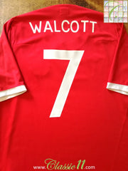 2010/11 England Away Shirt Walcott #7 (XL)