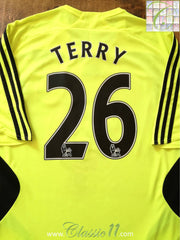 2007/08 Chelsea Away Premier League Football Shirt Terry #26 (L)