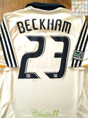 2008 LA Galaxy Home MLS Football Shirt Beckham #23 (XL)