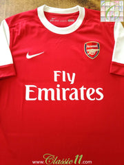 2010/11 Arsenal Home Football Shirt (S)