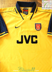 1996/97 Arsenal Away Football Shirt (S)