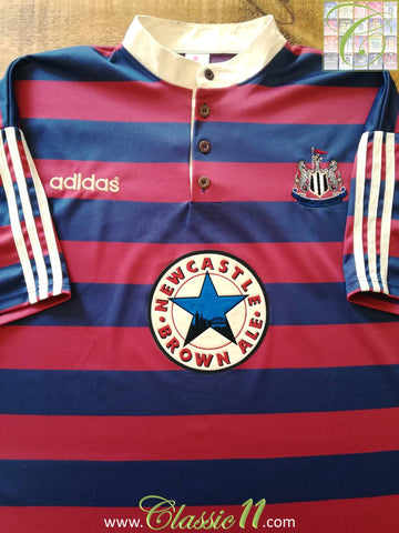 1995/96 Newcastle United Away Football Shirt (S)