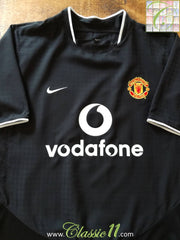 2003/04 Man Utd Away Football Shirt (S)