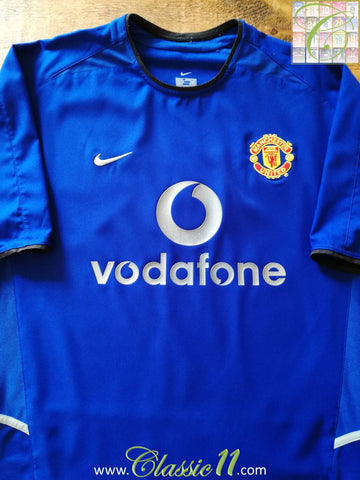 2002/03 Man Utd 3rd Football Shirt (L)