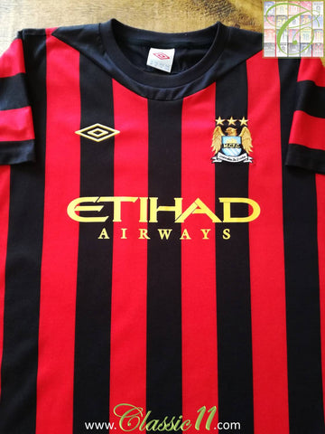 2011/12 Man City Away Football Shirt (M)