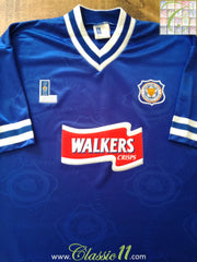 1996/97 Leicester City Home Football Shirt (L)