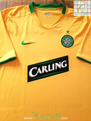 2008/09 Celtic Away Football Shirt (XXL)