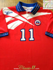 1996/97 Chile Home Football Shirt Salas #11 (L)