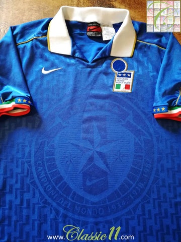 1995/96 Italy Home Football Shirt (XL)