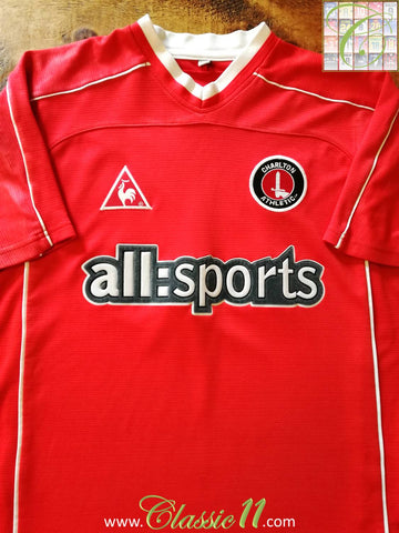 2002/03 Charlton Athletic Home Football Shirt (M)