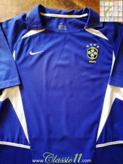 2002/03 Brazil Away Football Shirt (S)