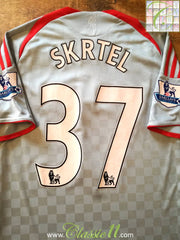 2008/09 Liverpool Away Premier League Shirt Skrtel #37 (S)