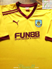 2011/12 Burnley Away Football Shirt (M)