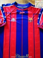 1997/98 Barcelona Home Football Shirt (XL)