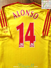 2006/07 Liverpool Away Premier League Football Shirt Alonso #14 (L)