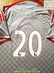 2008/09 Liverpool Away Premier League Football Shirt Mascherano #20 (L)