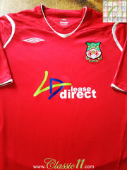 2008/09 Wrexham Home Football Shirt (XL)