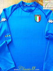 2000/01 Italy Home Football Shirt. (XXL)