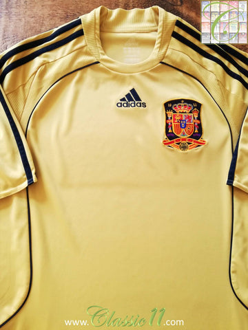 2008/09 Spain Away Football Shirt (M)