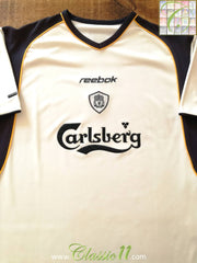 2001/02 Liverpool Away Football Shirt (M)