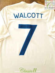 2011/12 England Home Football Shirt Walcott #7 (S)