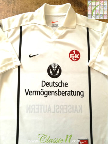 1999/00 1. FC Kaiserslautern Away Football Shirt (M)