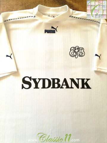 1998/99 Esbjerg fB Away Football Shirt #5 (XXL)