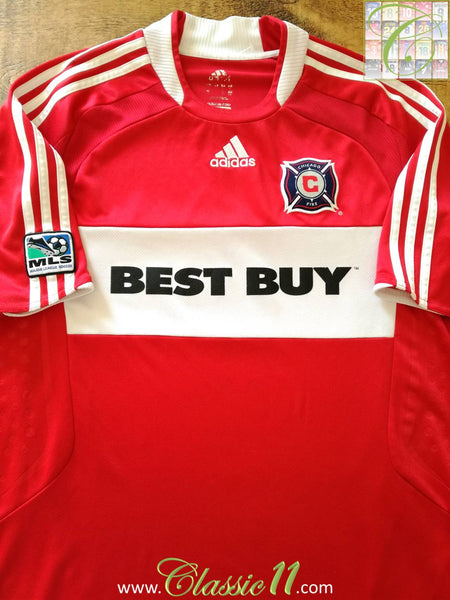 save off 34dee 1389b 2008 Chicago Fire Home Football Shirt / Men In Red Soccer ...