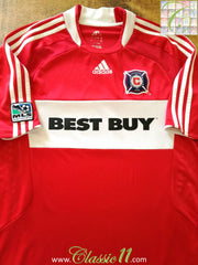 2008 Chicago Fire Home MLS Football Shirt (L)