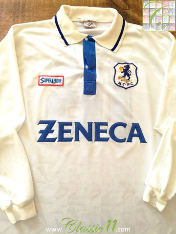 1994/95 Macclesfield Town Away Football Shirt #16 (XL)