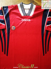 1996/97 Norway Home Football Shirt (M)