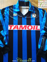 1989/90 Atalanta Home Football Shirt (L)